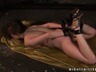 Blonde Sinead has a great time fingering Rebecca Contrerass muff pie