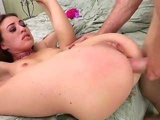 Tiffany Doll is a young brunette who likes to get it done hardcore. She gets fucked hard in all of her holes as the guy is ramming her pussy, ass and mouth.