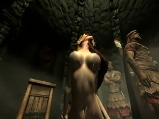Skyrim - Imperial soldiers gangbang a sexy Nord - part2 free