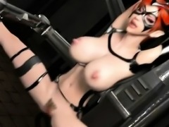 Big titted 3d anime slave gets fucked