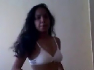 Naughty Indian Girl Getting Undressed