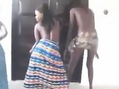 Black Teens Shaking Their Ass In Africa