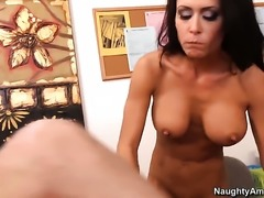 Jessica Jaymes is just desperate for sex in this steamy fuck action with...