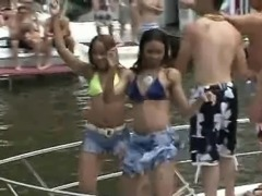 sexual disorder during a public boat party