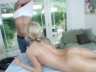 Eden Adams is a horny slut and wants to have sex more often than her man....