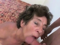 Mom will take your cum in any way she can