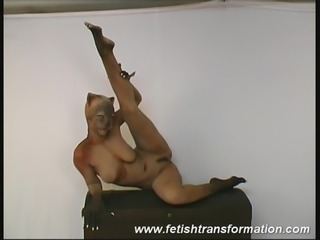 flexible catwoman