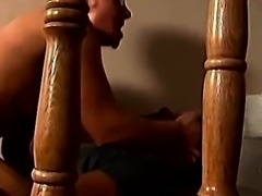 Horny Granny fucks young guy