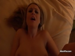 Hot Blonde POV fuck in hotel free