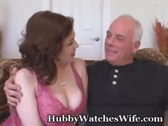 Sex Crazed Wifey Opens Pussy For Another free