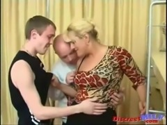 Parents teach their son some sex lessons free