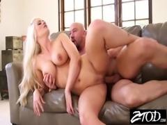 Big tit blond MILF fucks her husbands friends free
