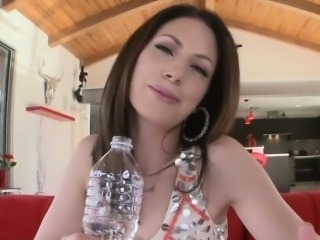 Horny Sarah Shevon needed a huge monster cock