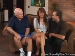 Interracial Swinger Action With Asian MILF free