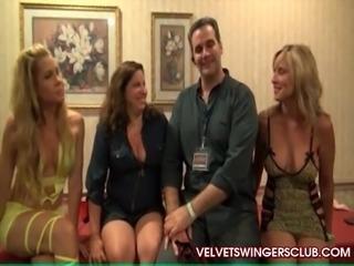 Velvet Swingers wives fucking and sucking other guys
