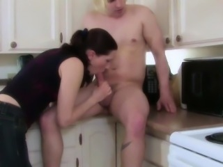43yr Old Mother fucks 18yr old Step-Son when Dad away