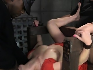 Hot cowgirl ass fucked hard