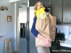 Brandi Love hot stepmom catches son and teaches little pervert a lesson -...
