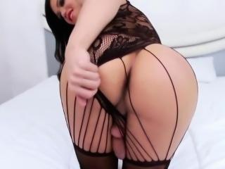 Fetish tgirl swapping cum