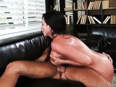 Huge tits Ariella Ferrera gets fucked