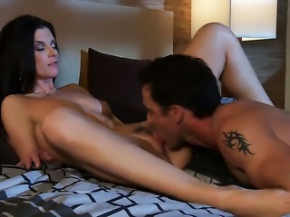 India Summer cant wait to be fucked in her mouth by hard dicked guy