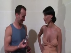 Beautiful lady analfucked in stairs by William free