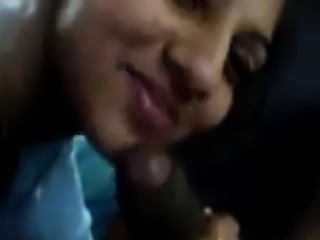 Indian Giving Her Boyfriend A Blowjob POV
