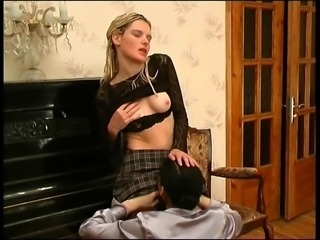 image Russian piano teaching milf ia aroused by her student