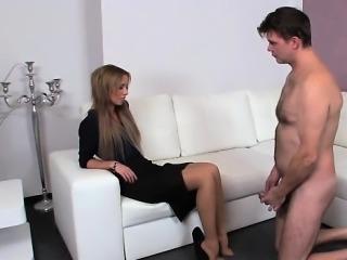 Sexy Frau orgasm