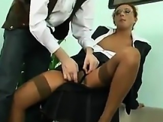 Business Woman Being Fucked In The Butt