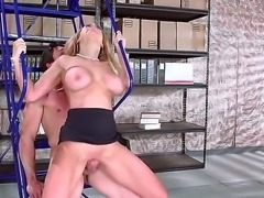 Smoking hot blonde Corinna Blake with huge tits is a fuck hungry slut. She...