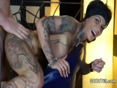 German Pornstar Kitty Core in Amateur Gangbang with Many Men free