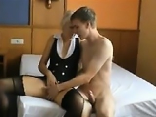 Blonde Mom Wants Young And Hard Cock