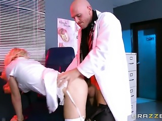 Johnny Sins is a nurse fucker