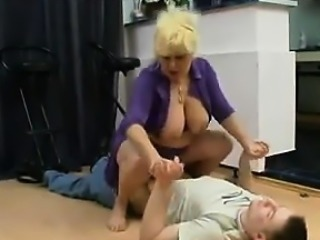 Thick Mother From Russia Having Sex