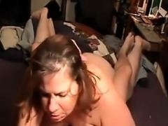 BBW And Her Man Making Their Sex Tape