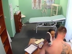 Gorgeous nurse bangs doctor