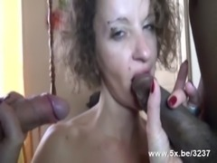 A gangbang for Claire a French mature free