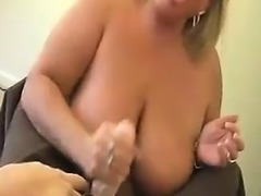 Milf Craves Buckets Of Cumloads While Her Hubby Away