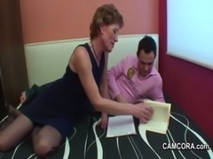 German Milf Teacher exploit young boy to fuck in privat lesson free