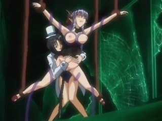Pregnant anime with bigboobs caught and drilled by tentacles