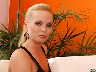 Suzie Karina strips down to her bare skin and then masturbates on cam