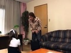 The horny maid