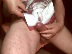 Tribute for mefac - cumshot on pussy and tits