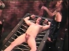 From MILF-MEET.COM - Dude gets restrained to bed by blonde l