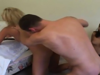 Ashley Blue gets a stern chewing out from one of her horny p