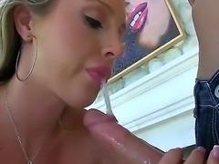 Leggy porn diva Samantha Saint with apple ass and big fake boobs shows off...