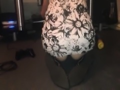 Slut Wife Upskirt Short Dress