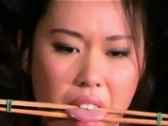 Busty asian bdsm and needle tortures
