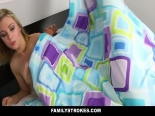 FamilyStrokes - Daddy fucks step daughter every time mommy leaves free